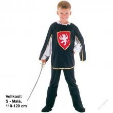 Dětský karnevalový kostým MUŠKETÝR PORTOS 110 - 120cm ( 4 - 6 let )